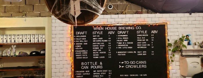 Wren House Brewing Company is one of Need To Try.