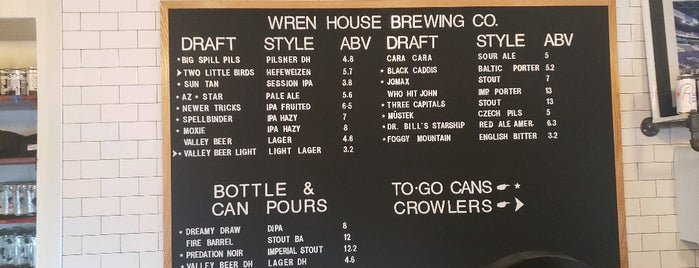 Wren House Brewing Company is one of PHX MUST.