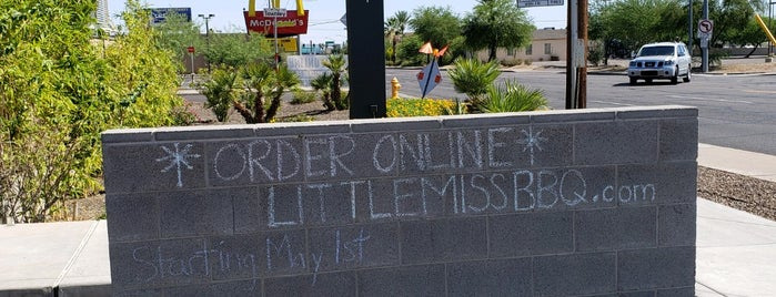 Little Miss Bbq - Sunnyslope is one of Ryan's Liked Places.