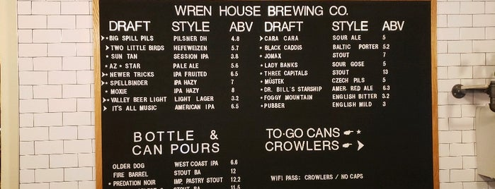 Wren House Brewing Company is one of Chuck : понравившиеся места.