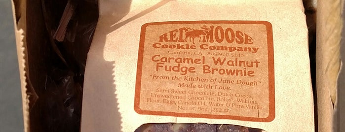 Red Moose Cookie Co. is one of California Coast.