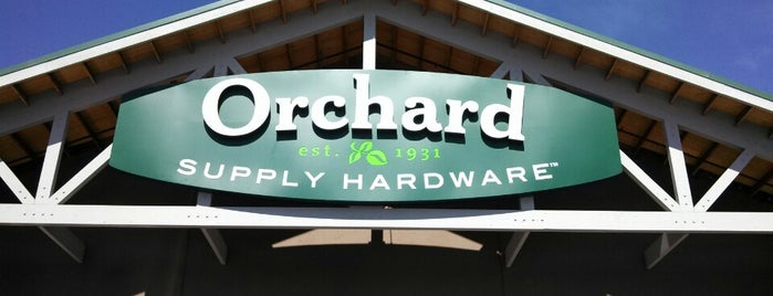 Orchard Supply Hardware is one of Lugares favoritos de Michael.