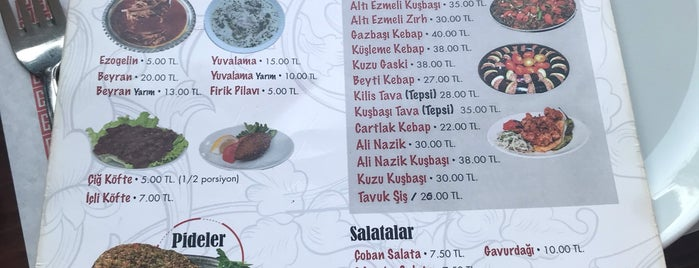 Vasfi Usta Antep Sofrası is one of Ankara YE ✅.