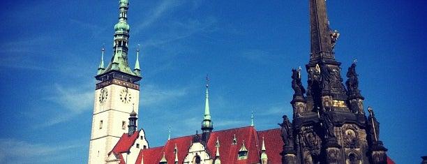 Horní náměstí is one of Olomouc.