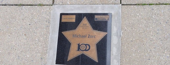BVB Walk of Fame #82 Michael Zorc is one of BVB Walk of Fame.