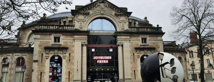 Maison du Boulanger — Théâtre de Champagne is one of Troyes.