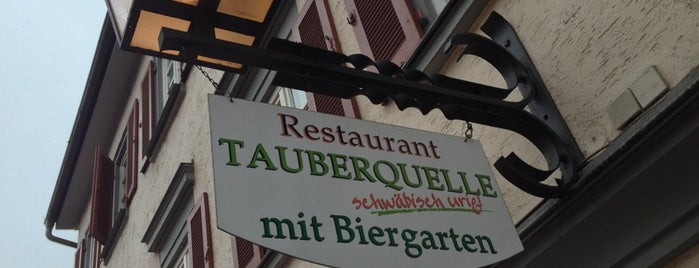 Restaurant Tauberquelle is one of GDM @ Germany.