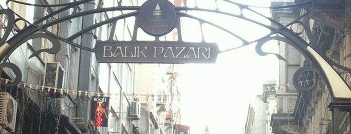 Beyoğlu Balık Pazarı is one of My Istanbul.