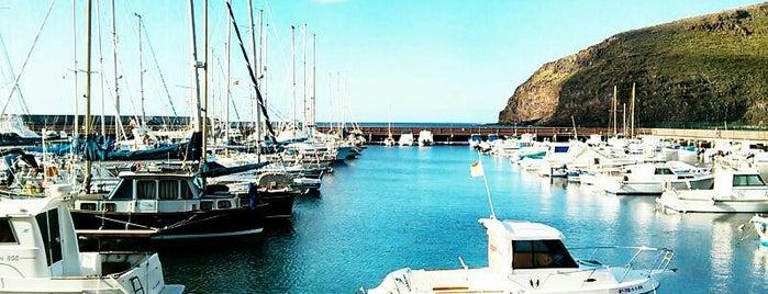 Marina San Sebastian is one of La Gomera, Spain.
