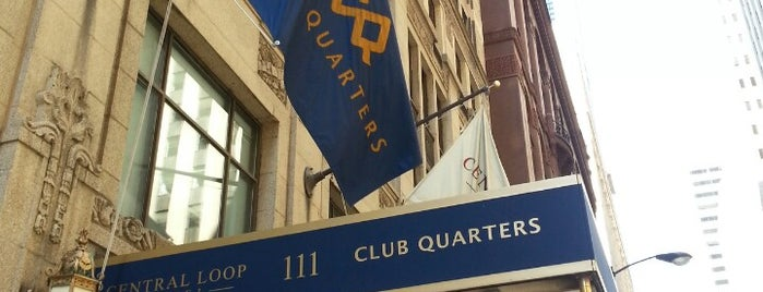 Club Quarters Hotel, Central Loop is one of Chicago Trip.