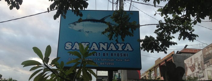 Sakanaya (Fish Market by Ryoshi) is one of Must-visit Food in Bali.