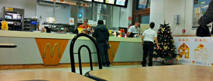 Mc Donald's is one of nuova vita.