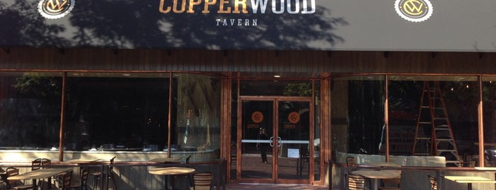 Copperwood Tavern is one of Lugares guardados de Collin.