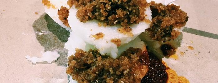 Bedok Chwee Kueh 勿洛水粿 is one of Vegan and Vegetarian.