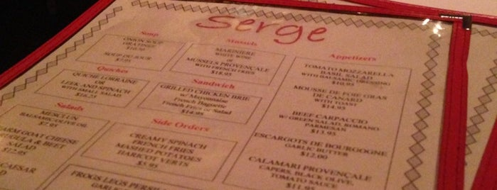 Serge is one of Favorite NYC Spots.