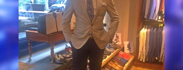 Taji Gentlemen's Clothier Abdi ipekci Nisantasi is one of Hasan'ın Beğendiği Mekanlar.