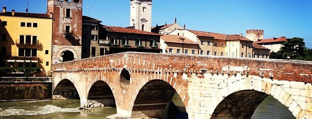 Ponte Pietra is one of Locais curtidos por Rodolfo.