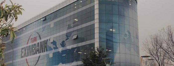 Türk Eximbank Genel Müdürlüğü is one of สถานที่ที่ Osman ถูกใจ.