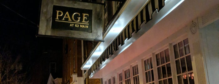 Page at 63 Main is one of The Hamptons.