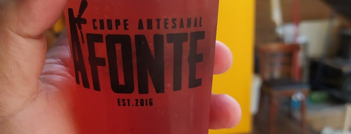 A Fonte Tap Station Vila Romana is one of Craft beer in São Paulo.