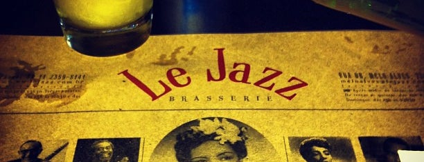 Le Jazz Brasserie is one of Hamburguerias.