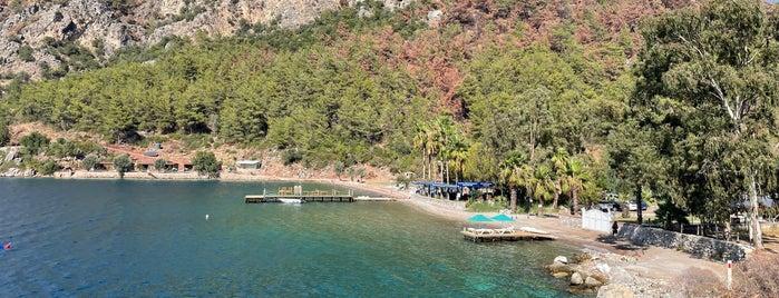 Delikyol Plajı is one of Çadır Kamp Alanı ve Plajlar.