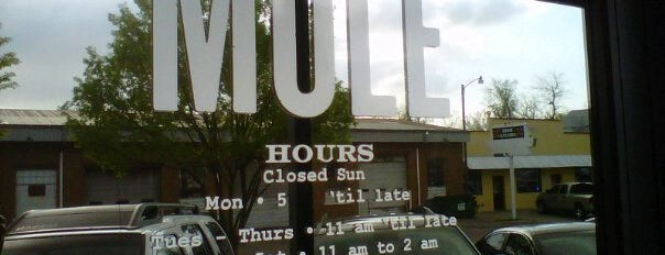 The Mule is one of Oklahoma City OK To Do.