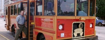 Bricktown Trolley is one of Oklahoma City OK To Do.