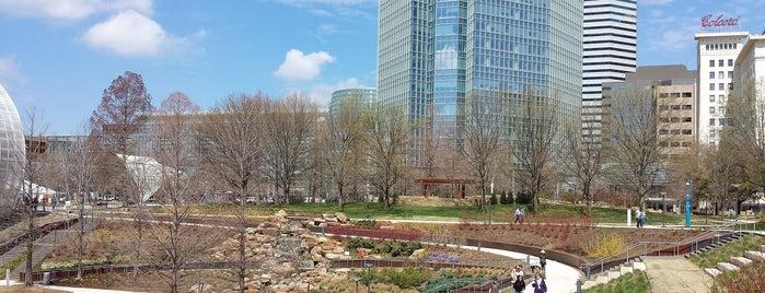 Myriad Botanical Gardens is one of Oklahoma City OK To Do.