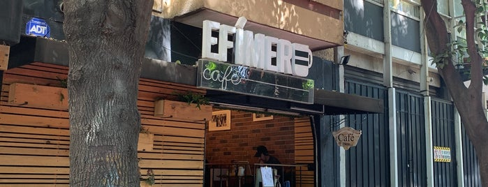 Efimero Café is one of Food/Drink Favorites: Mexico City.