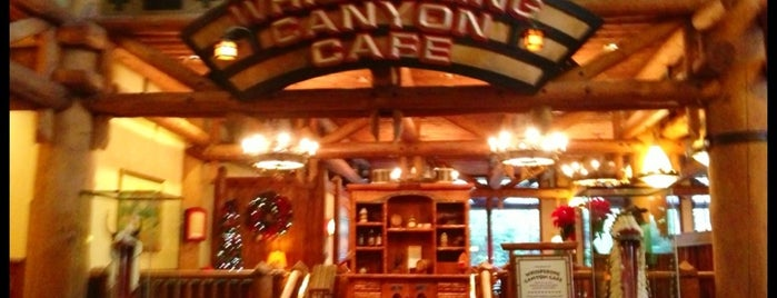 Whispering Canyon Café is one of Disney Dining.