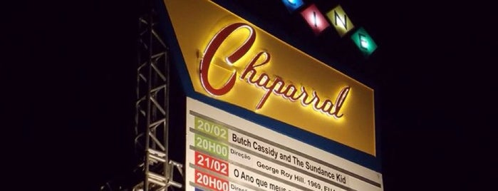 Cine Chaparral is one of lazer.