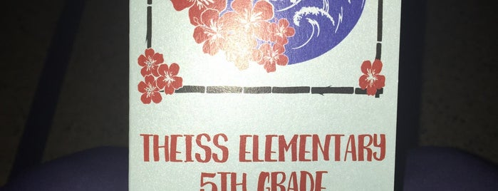 Theiss Elementary School is one of Lisa'nın Beğendiği Mekanlar.