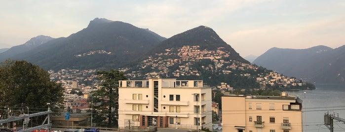 Continental Parkhotel Lugano is one of Locais curtidos por John.