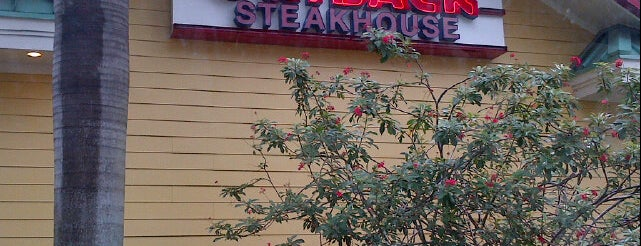 Outback Steakhouse is one of Beau's Liked Places.
