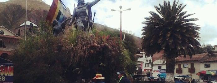 Plaza de Armas Urcos is one of Adan'ın Beğendiği Mekanlar.