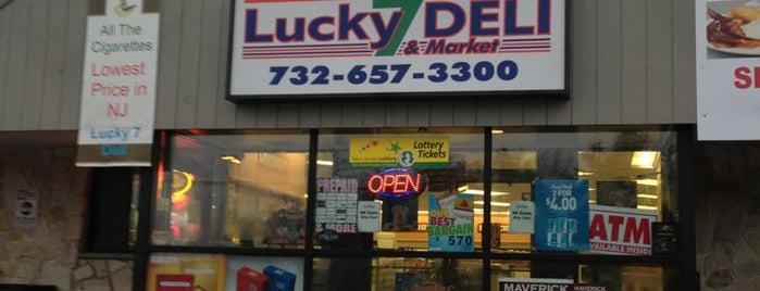 Lucky 7s Deli & Market is one of Orte, die Tara gefallen.