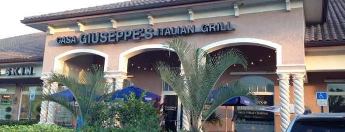 Casa Giuseppe's Italian Grill is one of Locais curtidos por Virginia.