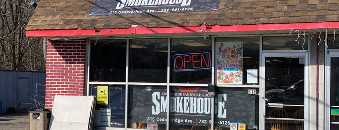 South Side Sandwich Shop & Smokehouse is one of NEW JERSEY_ME list.
