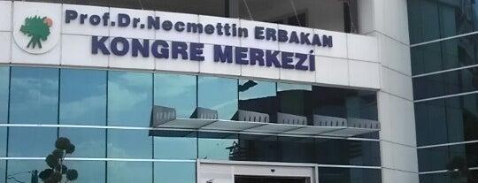 Prof. Dr. Necmettin Erbakan Kongre Merkezi is one of Locais curtidos por Metin.