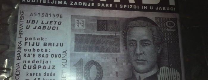 Jabuka is one of Zagreb's to-do list.