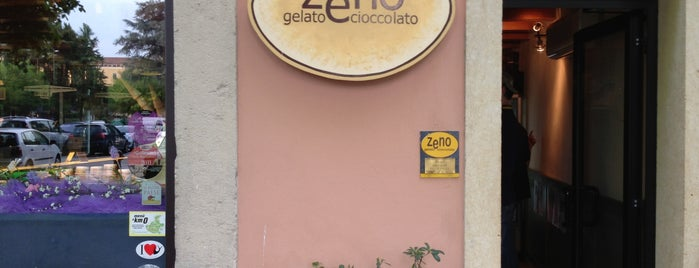 Zeno Gelato e cioccolato is one of Juliet House Verona Suggestion List.