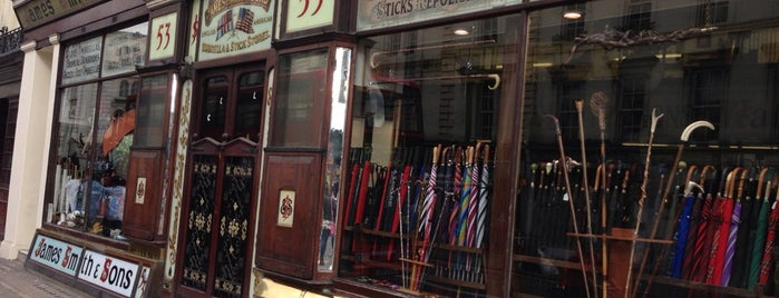 James Smith & Sons is one of Almost Locals em Londres.