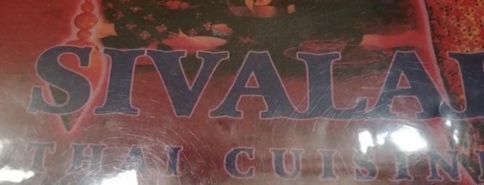 Sivalai Thai Cuisine is one of Greg : понравившиеся места.