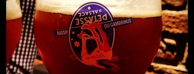 Gambrinus is one of Lieux sauvegardés par Jean-Luc.
