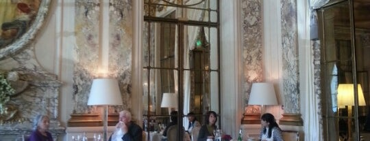Restaurant Le Meurice Alain Ducasse is one of Paris.