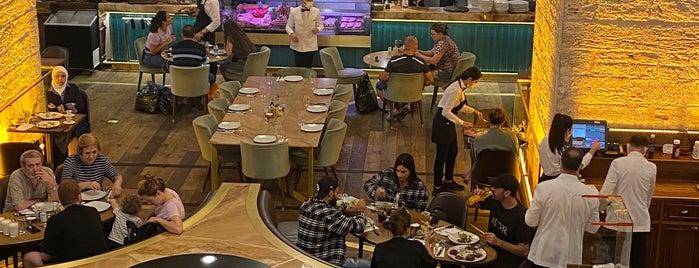 Nusr-Et Steakhouse is one of Reha : понравившиеся места.
