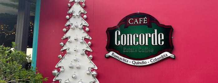 Cafe Concorde is one of Tempat yang Disukai Nydia.