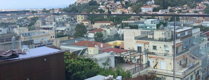 Metropolis Roof Garden is one of Athens.