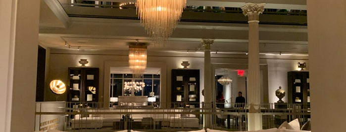 Restoration Hardware is one of NYC  cafe / coffee lovers (esp soy milk drinkers).